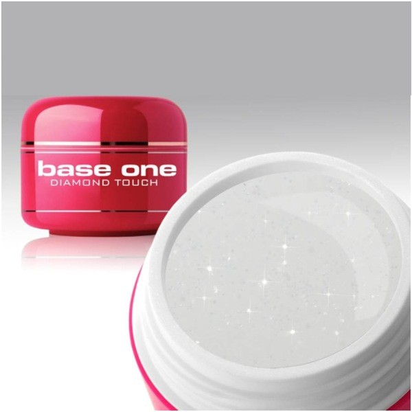 UV nagų gelis Base One Diamond Touch