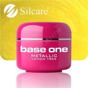 UV nagų gelis Base Metallic Lemon Tree 5g