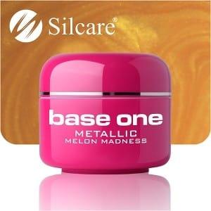 UV nagų gelis Base Metallic Melon Madness 5g