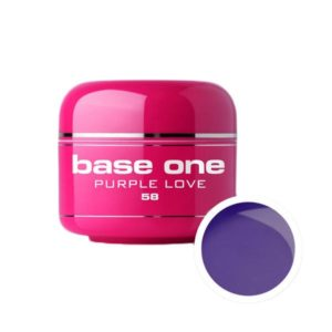 UV nagų gelis Base One Purple Love 5g