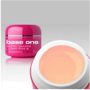 UV nagų gelis Base One Pastel Light Pink 5g