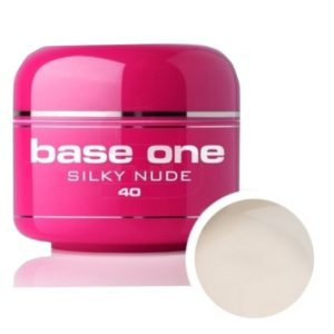 UV nagų gelis Base One Silky Nude 5g