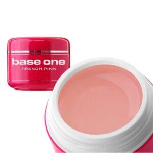 UV nagų gelis Base One French Pink rožinis 15 g
