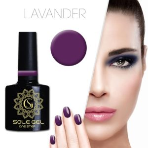 ONE STEP gelinis nagų lakas SOLE GEL VIOLETINIS 42