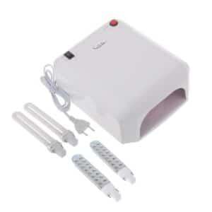 UV gelinio nagų lakavimo lempa su pasiirinktomis LED arba UV lemputėmis