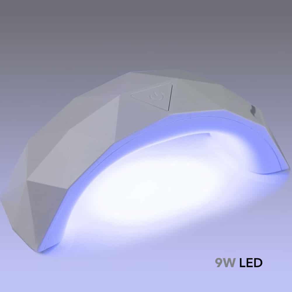 9w LED nagu lempa diamond-1