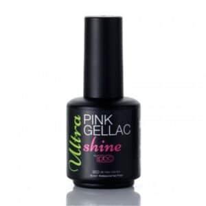 Profesionalus ilgalaikio lako viršutinis sluoksnis Pink Gellac Ultra shine 15 ml