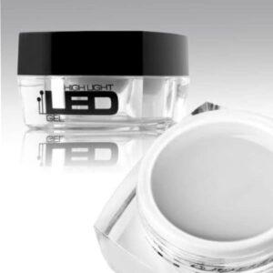 LED/UV nagų gelis Clear skaidrus 4g