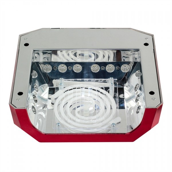 """Gelinio lakavimo  rinkinys """"NC  2IN1 su 18W CCFL/LED nagų lempa"""""""