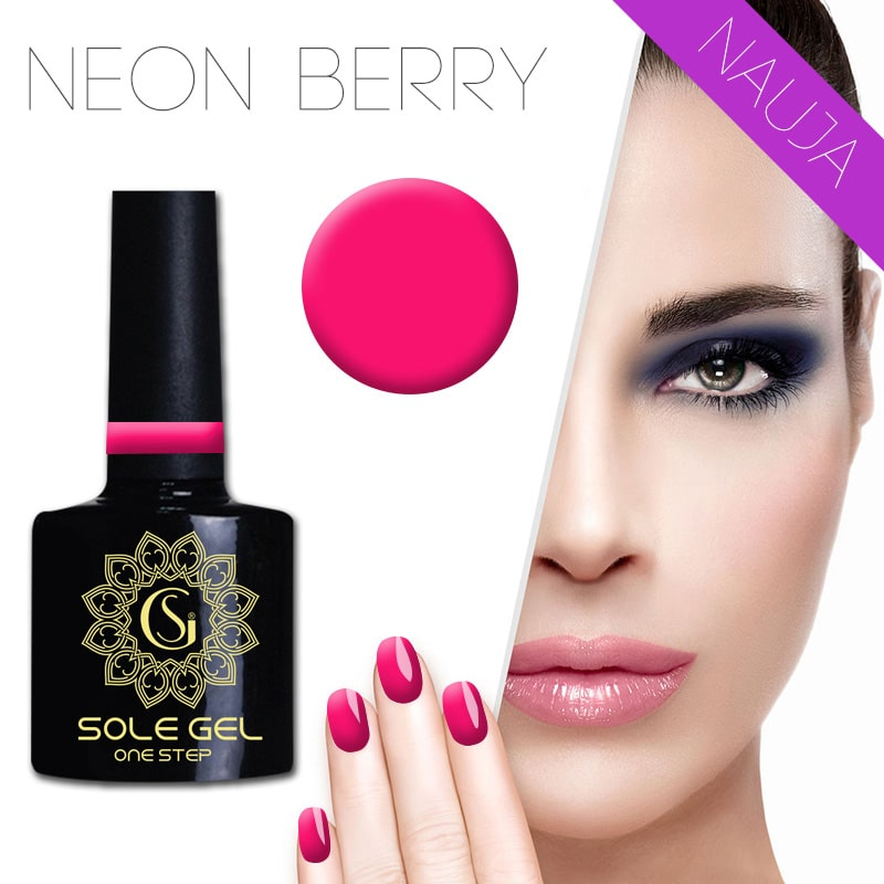 sole gel lakas neon berry 57