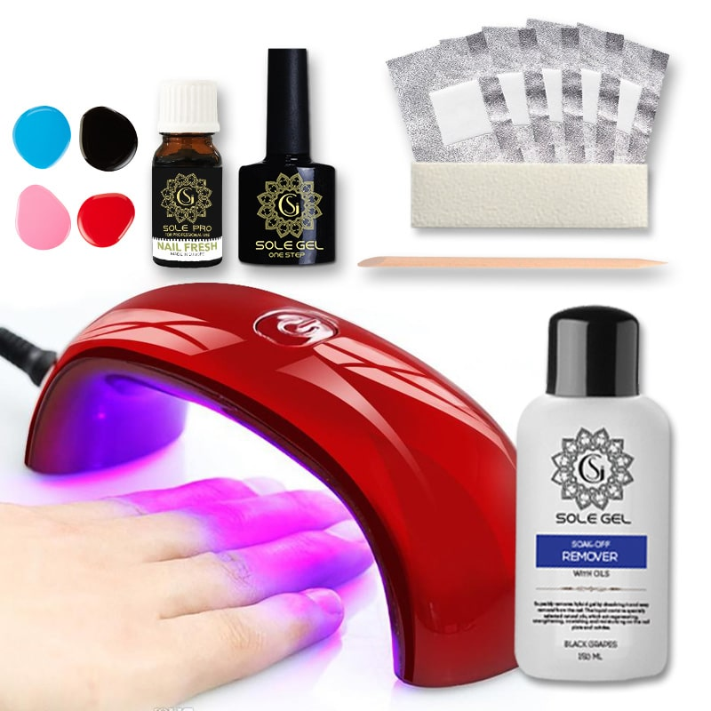 Sole gel Rinkinys-try